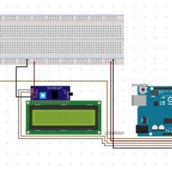 Sensor de humedad del suelo con pantalla LCD